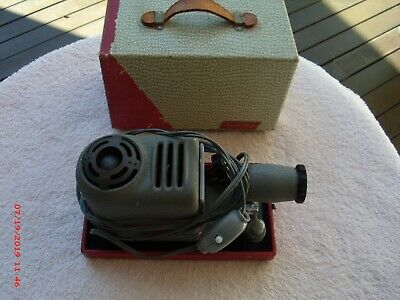 Vintage Recall Slide Projector, Made In Japan, In Case