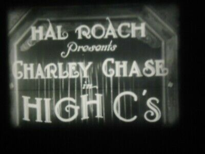 Super 8 High C's Charley Chase Thelma Todd Carlton Griffin Oscar Smith 1930