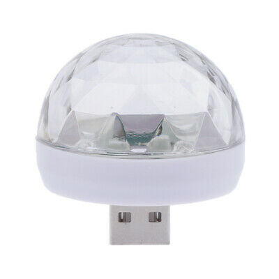 USB Mini LED Disco Stage Light Party Club KTV Magic Lamp Ball for Phone