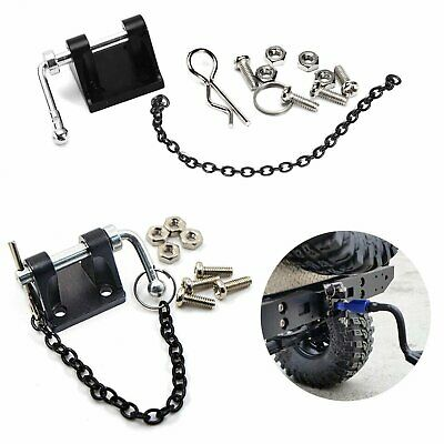 Metal Tow Shackle Trailer Hook for 1:10 RC Axial SCX10 TRX-4 Rock Crawler Cars