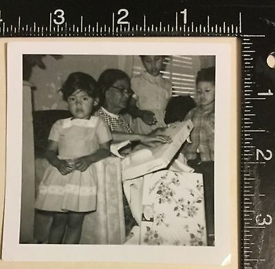 Vintage Photograph Great candid portrait of a camera alert girl 1960s a8