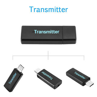 Bluetooth Audio Transmitter USB Stereo Dongle Sender Adapter for TV PC DVD MP3