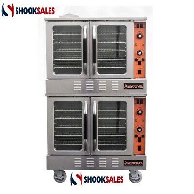 MVP Group SRCO-2E Double Stack Convection Oven, Electric 3 phase power