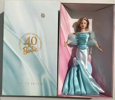 Barbie Celebrating 40 Years Of Dreams Limited Edition Doll Nrfb 1998