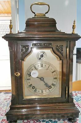 W&H Mahogany Ting Tang Bracket Clock in Good Working Order