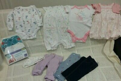 Beautiful Baby Girls Clothing Bundle 3-6 Months. New & Used Items.
