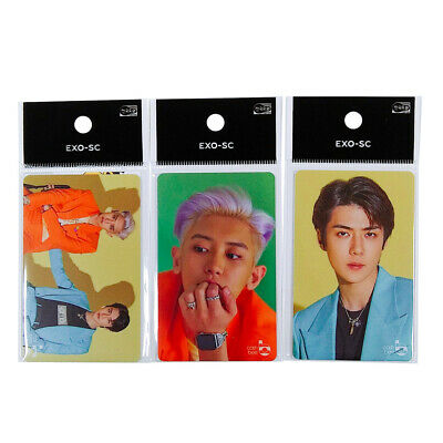 [Pre-Order] EXO-SC 1st Mini Album What a life Official Photo Cashbee Photocard