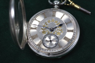 Solid Watch Sterling Silver, London 1870