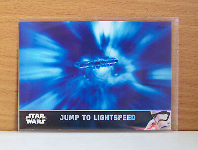 Star Wars The Force Awakens series 2 Jump to Lightspeed #47 Holofoil card