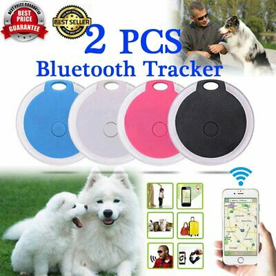 2Pcs Bluetooth Wireless Anti Lost Tracker Alarm Key Child Pet Finder Gps Locater