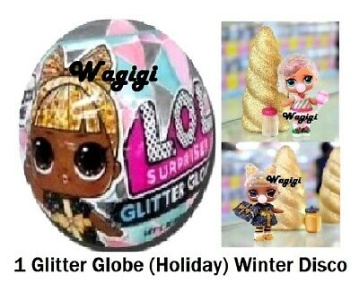 LOL Surprise WINTER DISCO *GLITTER GLOBE* Doll Series Balls Holiday OMG Preorder