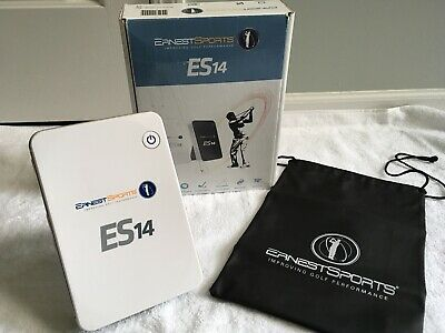 ES14 Golf Launch Monitor- Mint Condition