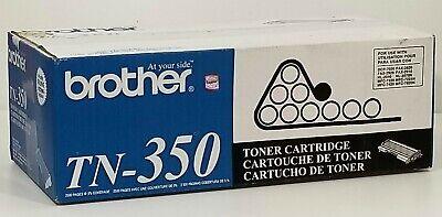 GENUINE Brother TN-350 High Yield Black Toner Cartridge - New in Original box