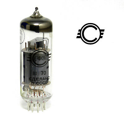 6F3P / ECL82 / 6bm8 ussr triode-pentode tubes! lot of 1 or