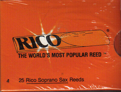 RICO  25 Anches saxophone SOPRANO Force 4