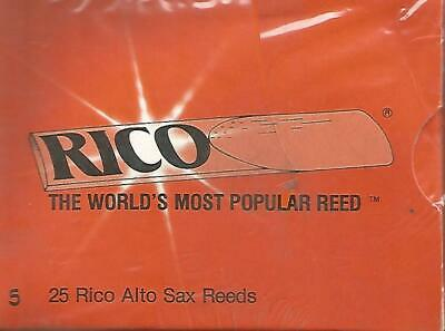 RICO  25 Anches saxophone alto- Force  5