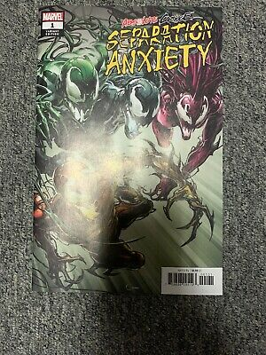 (2019) ABSOLUTE CARNAGE SEPARATION ANXIETY #1 1:50 CLAYTON CRAIN Marvel VF/NM