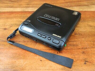 Sony Discman D-11 Portable CD Player Walkman Vintage Retro
