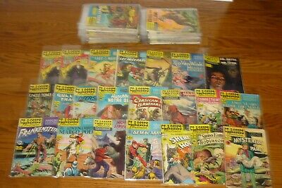 Lot of 79 Classics Illustrated comic books issues # 3- # 131 + more! CHEAP!