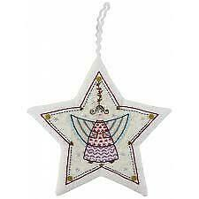 Sujet de noël N°2  Ange - Christmas Decorations No 2 Angel - Embroidery Kit  by