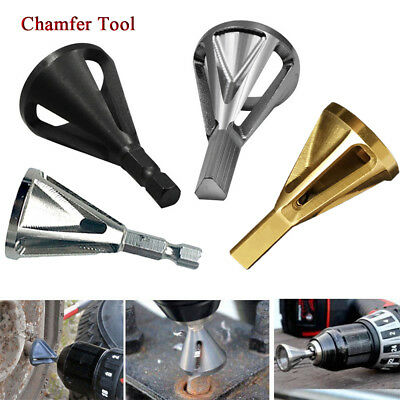 Stainless Steel TOP Deburring External Chamfer Bit Tools Remove Bit Burr Drill