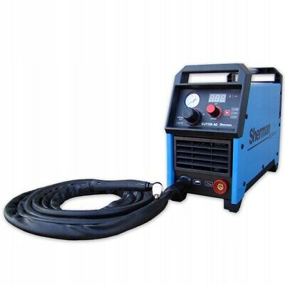 PLASMA CUTTER Sherman 40 Cutting up to 10mm 34A 230V Light Portable