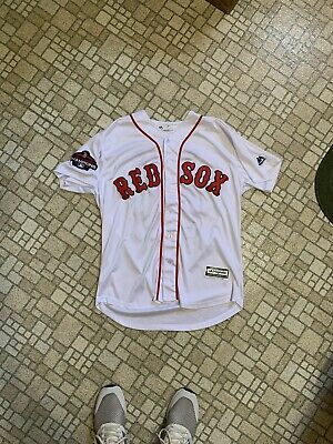 newest fd2b0 25e55 BOSTON RED SOX Mookie Betts Majestic Authentic Jersey ...
