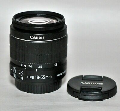 Nr MINT Canon EF-S 18-55mm f/3.5-5.6 IS II Zoom Lens Super Clean