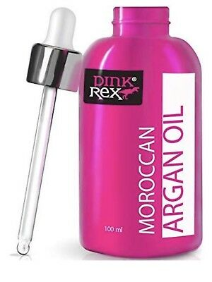 Cold Pressed Pure Moroccan Argan Oil Nail Skin Hair Support Moisturizer 4 Oz