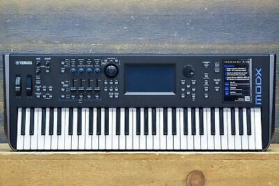 Yamaha MODX6 Music Synthesizer 61-Key Semi-Weighted Keyboard Music Synthesizer