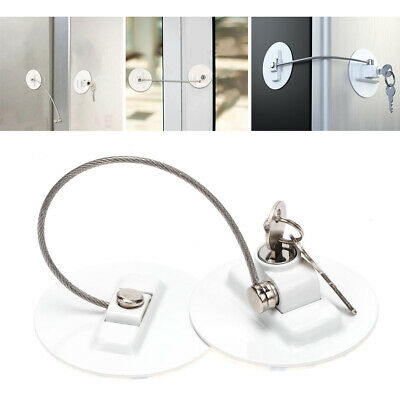 Baby Kids Safety For Appliance Accessory Refrigerator Door Lock with 2 Keys