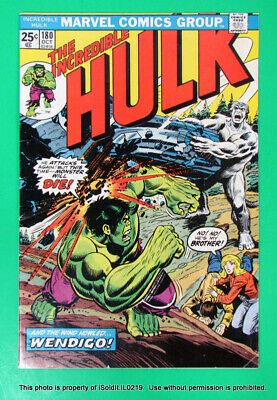 1974 MARVEL COMICS THE INCREDIBLE HULK #180 1st Appearance of Wolverine!