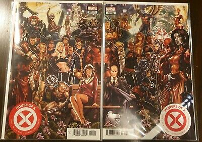 House Of X #1 & Powers Of X #1(Mark Brooks Connecting Covers)