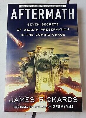 Aftermath by James Rickards 2019 ARC paperback