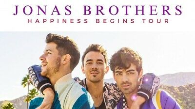 Jonas Brothers 2 Lower Tickets Friday, August 23rd Toronto, ON Scotiabank Arena