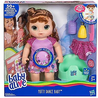 Baby Alive Potty Dance Baby Doll With 50 Sounds & Phrases (Red Hair)