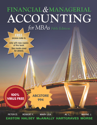 [ P.D.F ] Financial and Managerial Accounting for MBA's 5th Edition