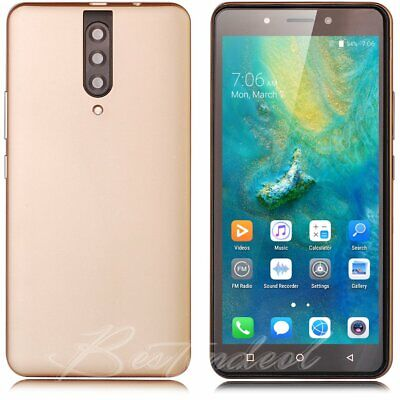"""Cheap Unlocked 5.5"""" Android 8.1 Mobile Smart Phone Quad Core Dual SIM GPS 3G New"""