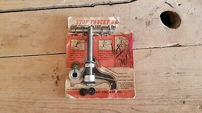 Never Used 1940's Vintage Antique O'Malley Faucet Drip Stopper Stop Kit