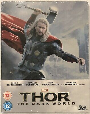 Thor: The Dark World 3D Steelbook - UK Exclusive Limited Edition Blu-Ray