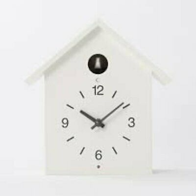MUJI dove Cuckoo Clock with Light and sensor watch Large F/S w/Tracking# Japan