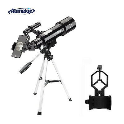 Telescope 40070 with Tripod Phone Holder 16X/66X for Moon Watching Erect Image