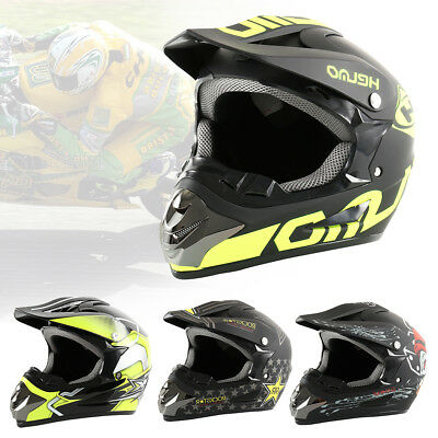 Full Face Helmet Motorcycle Motorbike Racing Road Bike AS/NZS Approved Size Opt.