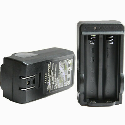 Rechargerable 4.2V Plug Smart Battery 18650 Charger B0Z4 Slots Dual Li-ion O5L0