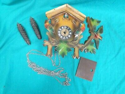 Broken Cuckoo Clock for Repair or Spares.  (Hospiscare)
