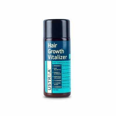 Ustraa Proven To Boost Promotes Healthy Shine Hair Growth Vitalizer 100 Ml