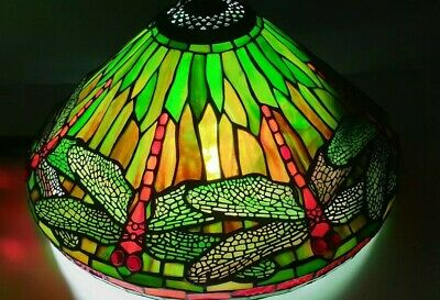 Dragonfly Stained Glass light shade