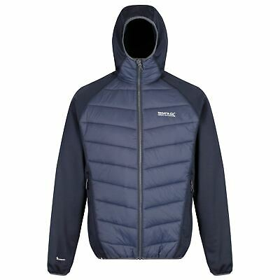 Hombre Regatta Andreson IV Insulated Water Repellent Stretch Hybrid Hooded Down Chaqueta