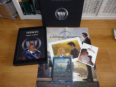 coffret BD + LITHOGRAPHIE + DVD BLU RAY : Largo Winch ( édition ultime )