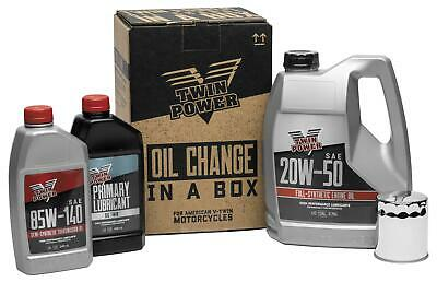 Twin Power Oil Change-In-A-Box 539048